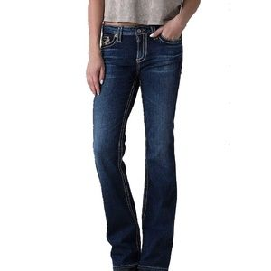 Big Star Legendary Low Rise Blue Jeans w/Stretch